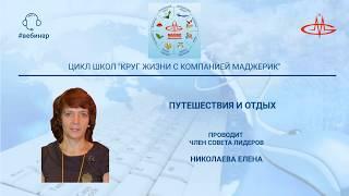 Николаева Елена. Путешествия и отдых. / Видео