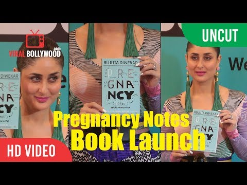 UNCUT - Pregnancy Notes Book Launch | Kareena Kapoor Khan