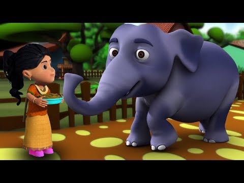 Hathi Raja Kahan Chale | Hindi Nursery Rhymes | Baby Rhymes | Kids Song | हाथी राजा कहाँ चले