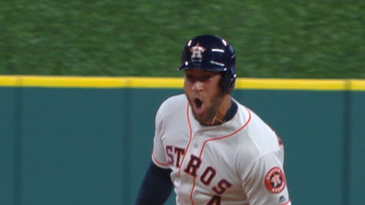 Astros top Angels, run winning streak to 4