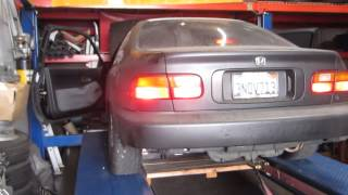 1995 Honda Civic DX Dyno Run Thumbnail