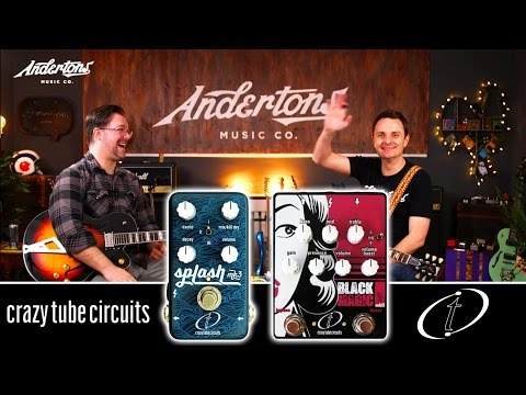 Crazy Tube Circuit Pedals - From the country that gave us Zeus. And Feta Cheese.
