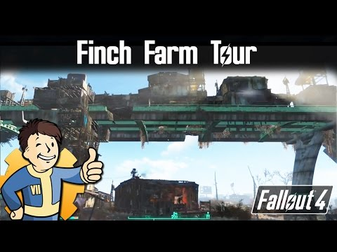 Fallout 4: Settlement Tour - Finch Farm