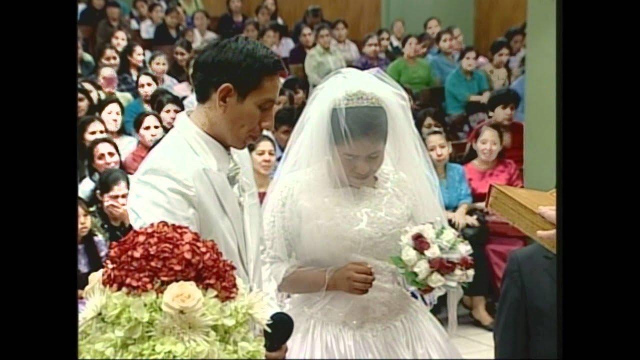 Matrimonio Catolico Vs Matrimonio Cristiano : Matrimonio simeon y marlene youtube
