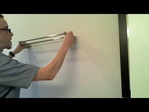 Mount a Bathroom Towel Bar into Drywall: Easy DIY Project!