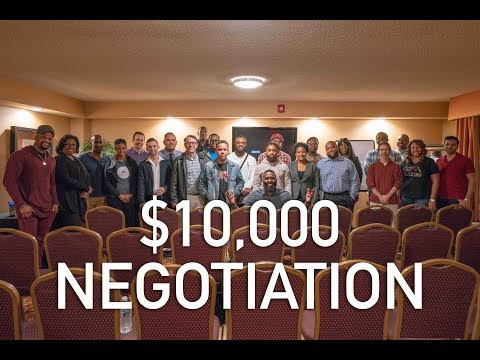 How to negotiate a deal & make $10,000 | Wholesaling Real Estate