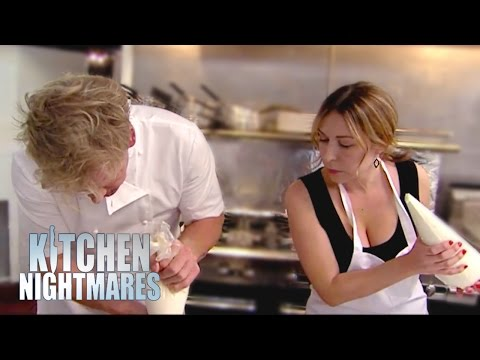 Gordon Gives Tatiana Cooking Lessons - Kitchen Nightmares