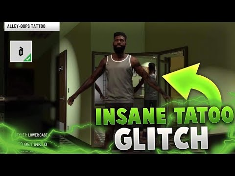 NBA 2K19 BEST TATTOO GLITCH FOR UNLIMITED AND FREE TATTOOS!