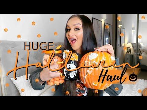 HUGE HALLOWEEN DECOR HAUL 2019 // Homesense & Poundland