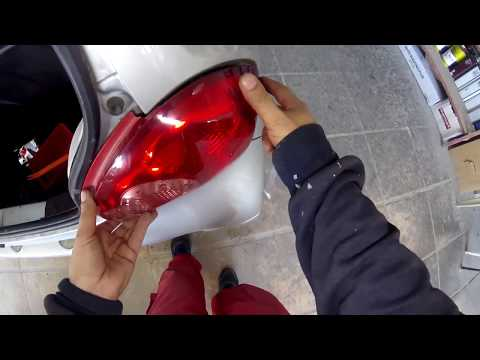 Toyota Aygo How To Replace Rear Tai Light Youtube