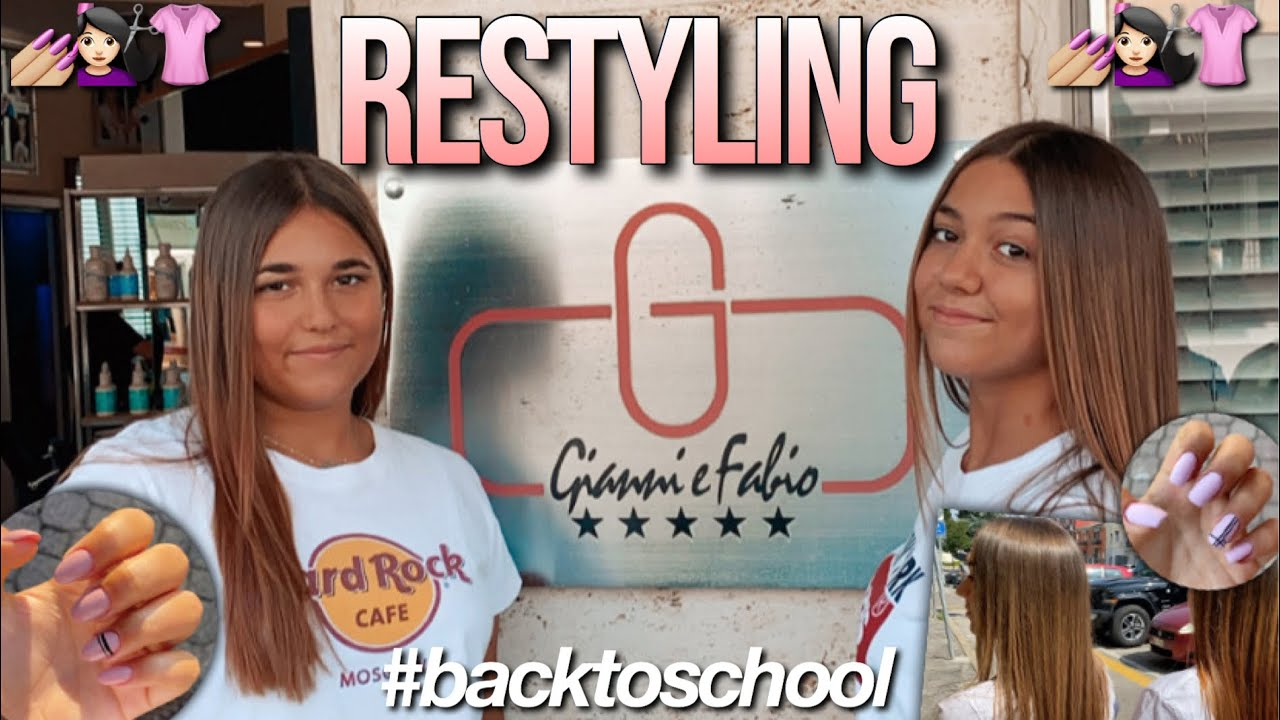 RESTYLING CAPELLI E UNGHIE// back to school 2020