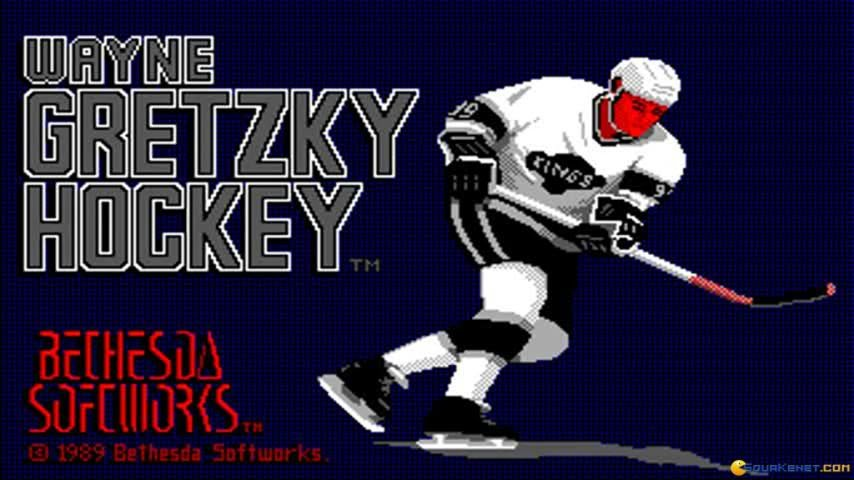 Wayne Gretzky Hockey Gameplay Pc Game 1988 Youtube