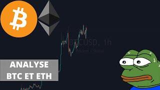 Bitcoin et Ethereum analyse et prévision 28 07 21