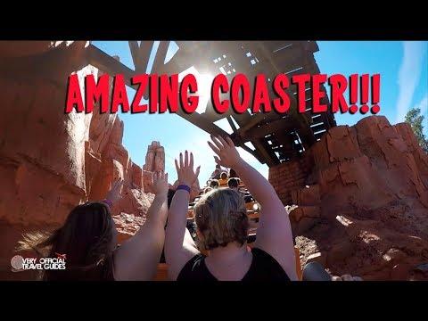 Disney World's Big Thunder Mountain Railroad Coaster