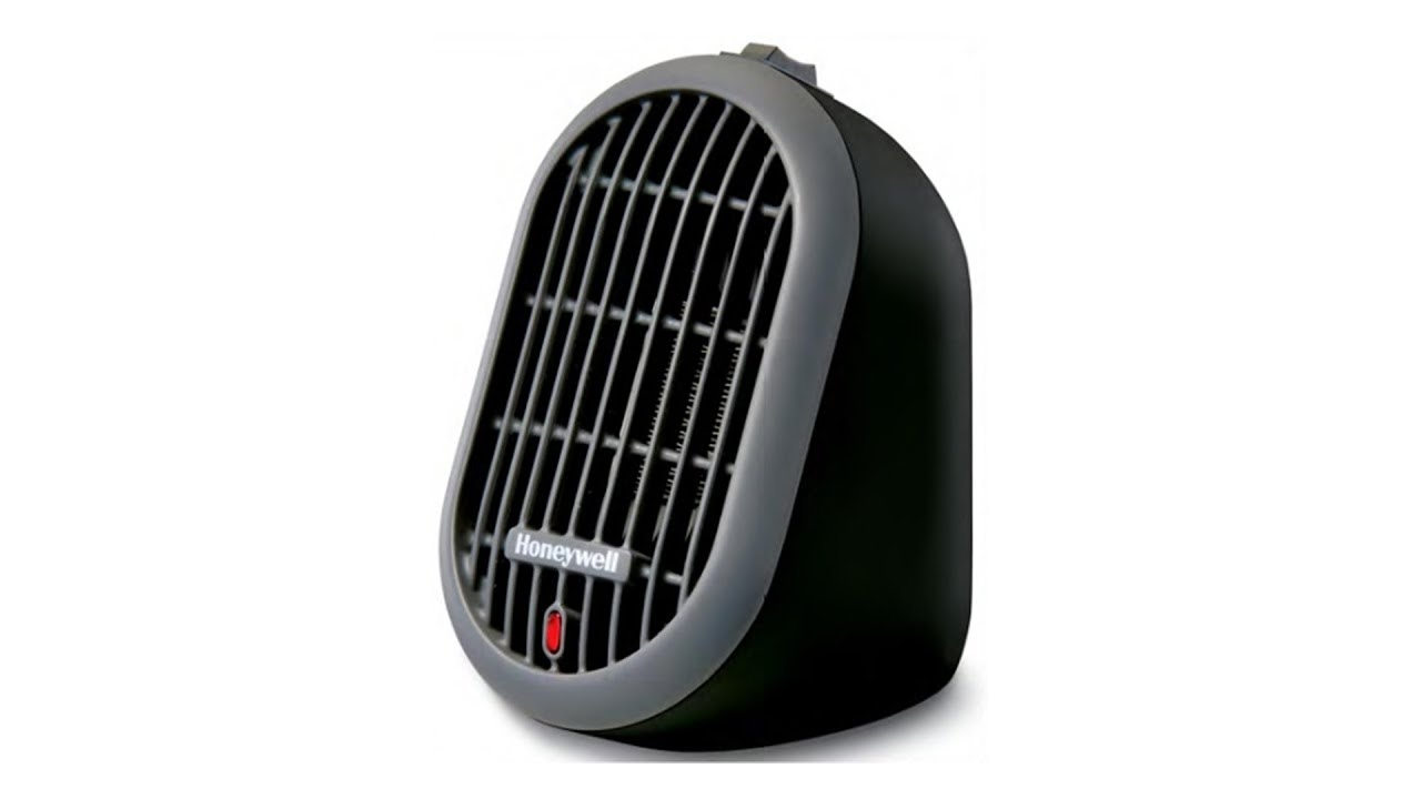 Honeywell Heat Bud Ceramic Portable Mini Heater   Black (HCE100)