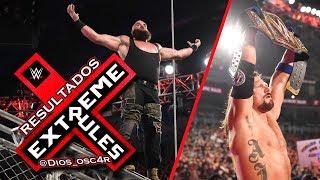 WWE Resultados de eXtreme Rules 2018 Cobertura y Opinión