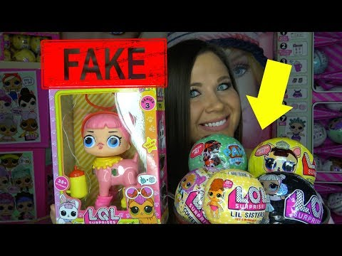 FAKE LOL Surprise Big Surprise Pearl Surprise GIANT DOLLS Fake Confetti pop series 3 wave 2 PETS
