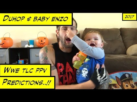 Duhop WWE TLC TABLES LADDERS AND CHAIRS PPV PREDICTIONS VLOG