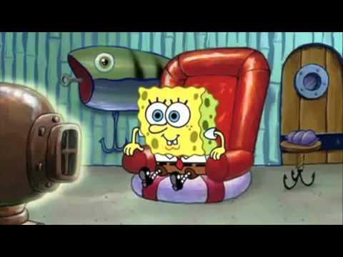Spongebob Watches Sea Anemone