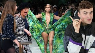 BEST AND WORST SPRING 2020 FASHION SHOWS (gigi confronts chanel runway crasher marie s