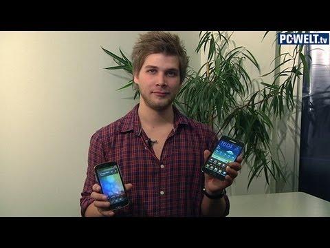 Samsung Galaxy Note und Pearl Simvalley SPX-5 im Vergleich