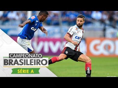 Melhores Momentos - Cruzeiro 1 x 1 Flamengo - Campeonato Brasileiro (16/07/2017)