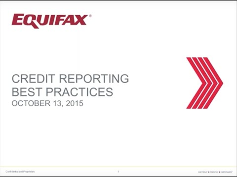 Equifax BHPH Data Furnishing-Tradeline Reporting