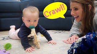 When Will My Baby Crawl?