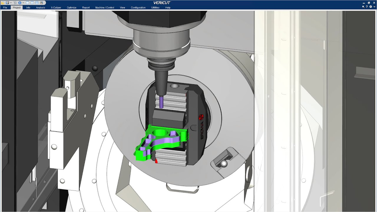 VERICUT CNC Simulation - An Introduction