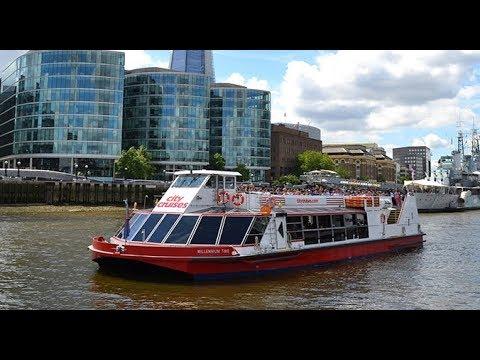 City Boat Cruises - London UK - River Thames - Paseo De Barco Londres