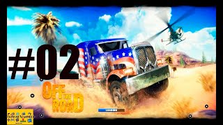 GAMEPLAY OFF THE ROAD DIRIGINDO PELO MUNDO E ENFRENTANDO DESAFIOS DE CORRIDAS ANDROID #2