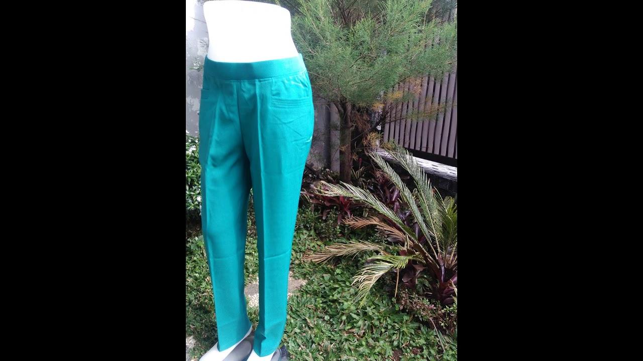 082177812336 Celana Kerja Wanita Pinggang Karet Cellia Di Halmahera