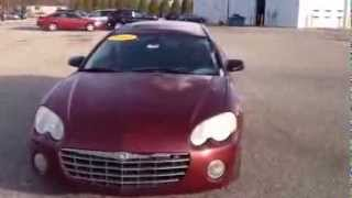 2003 Chrysler Sebring - Schafer Chevrolet