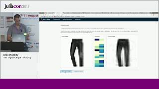 Show casing Julia on the Web