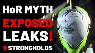 ANTHEM  PATCH 1.0.5, NEW ENEMIES incl. ICE TITAN!, 9 STRONGHOLDS, HoR MYTH EXPOSED, LEAKS! & MORE!