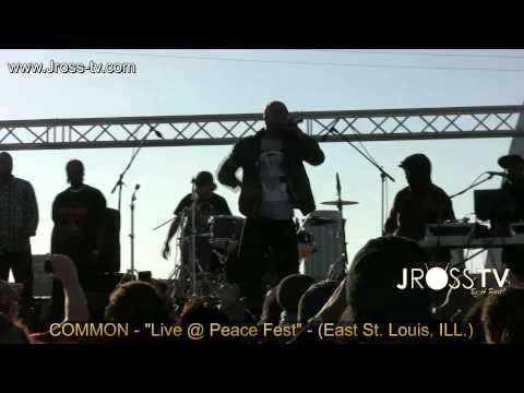 "James Ross @ (Rapper / Actor) COMMON - ""The Corner"" - (PeaceFest) - www.Jross-tv.com"