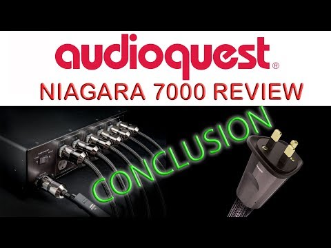 Audioquest Niagara 7000 Review Conclusion & Thunder HiFi Power Cable