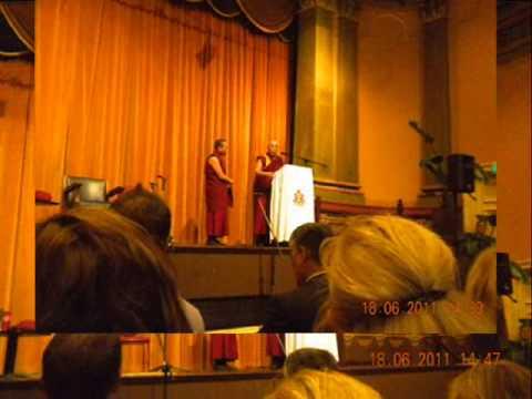His Holiness The Dalai Lama's visit to Fremantle Western Australia, 18/ 06/2011