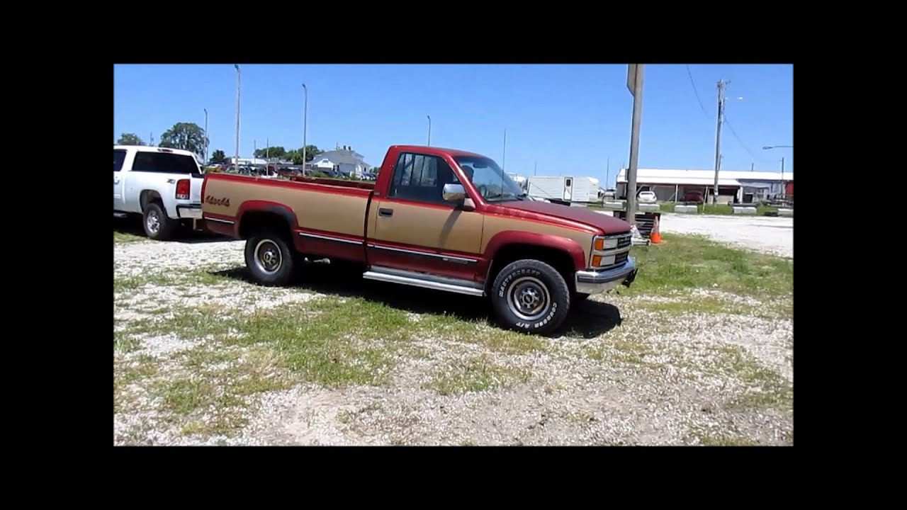 Truck 2500 chevy truck for sale : 1990 Chevrolet Silverado 2500 pickup truck for sale | sold at ...