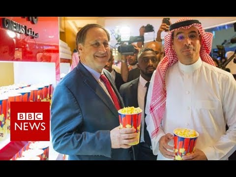 What's the first film to be shown in Saudi Arabian cinemas? - BBC News