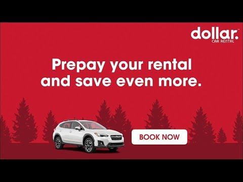 Prepaid Car Rentals | Dollar Car Rental