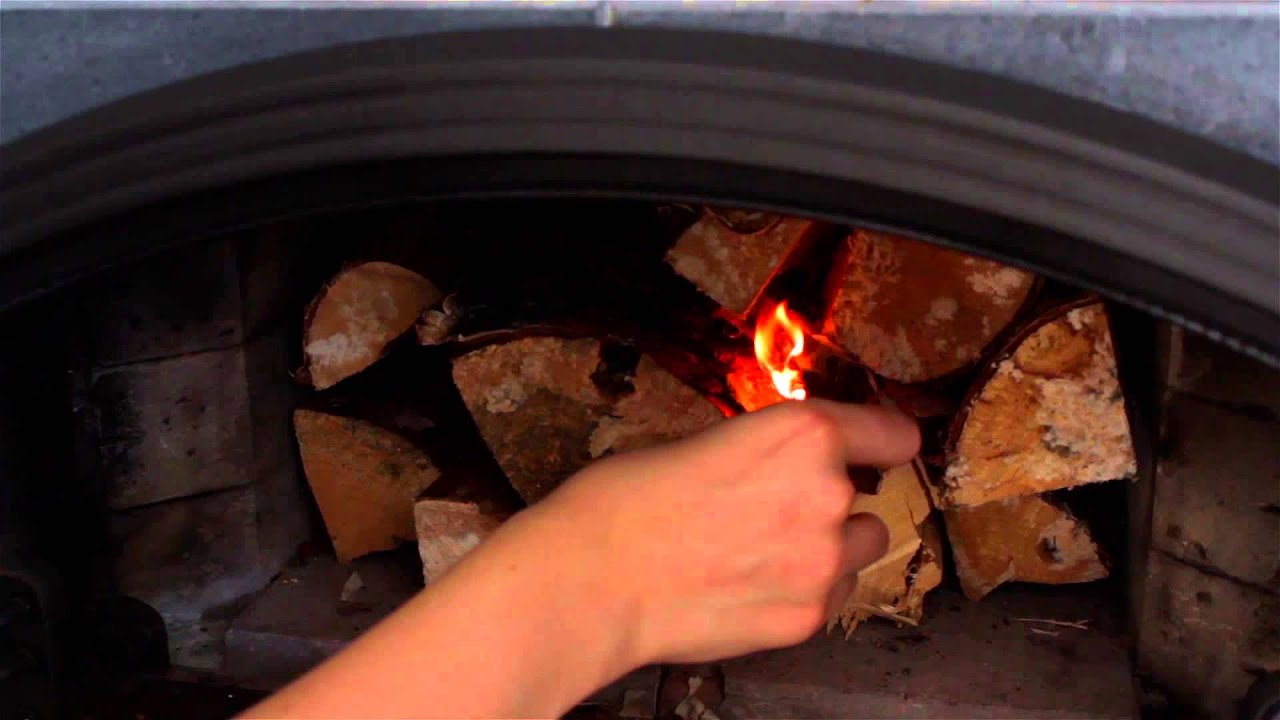 how to use a tulikivi fireplace with bakeoven youtube