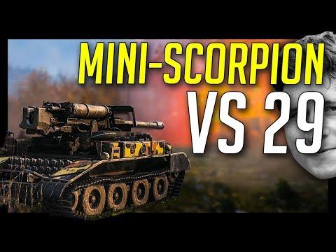 ► M56 Scorpion vs 29... - World of Tanks M56 Scorpion Gameplay
