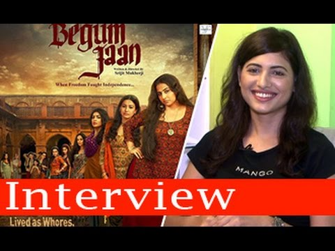 Begum Jaan Movie 2017 Actress Poonam Rajput Interview | Full Video HD | Vidya Balan