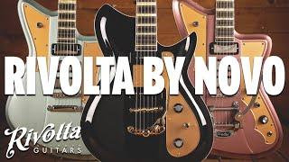 Rivolta by Novo Guitars: Nashville vibes from the genius mind of Dennis Fano!