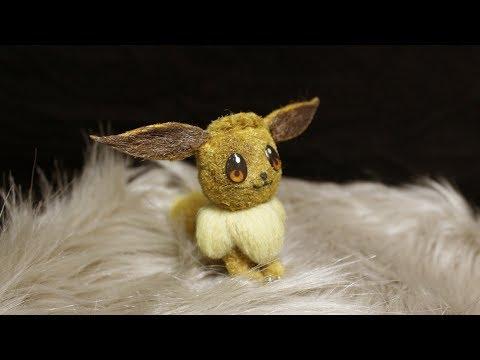 Best Realistic DIY Pokemon Eevee Craft (by Shin Art)