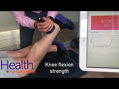Knee strength assessment for knee pain, runner's knee | Melbourne Sports Chiropractor