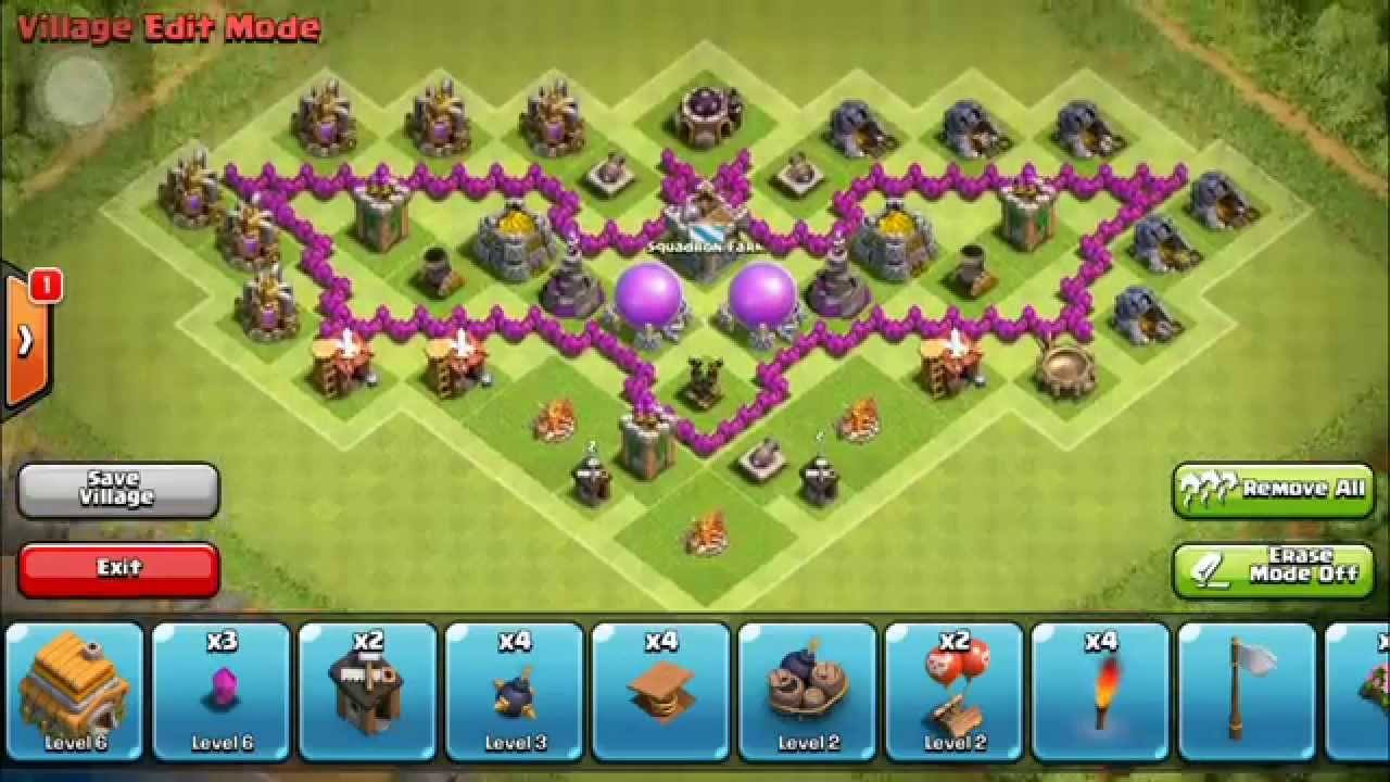 Base Coc Th 6 Kelelawar 3