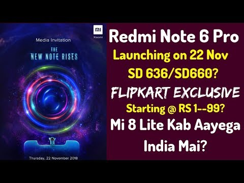 Redmi Note 6 Pro India Launch | Mi 8 Lite Kab Aayega India Mai?