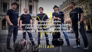 Padi - HITAM Lirik   The Best Padi
